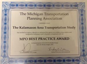 Best Practices Award